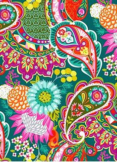 this print is actually making me happier Paisley Art, Paisley Design, Paisley Pattern, Pattern Art, Pattern Design, Abstract Coloring Pages, Flower Coloring Pages, Mandala Coloring Pages, Textures Patterns