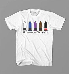 Rubber guard, hah