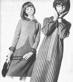 1964: Pattie Boyd and Samantha Juste (Mrs. George Harrison and Mrs. Micky Dolenz)
