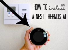 How to Install a Smart Thermostat . Watch the full episode: Plumbing and heating expert Richard Trethewey shows a homeowner how to install and operat. Smart Home Ideas, Smart Home Automation, Diy Kitchen Cabinets, Home Upgrades, Kitchen Upgrades, Home Technology, Home Gadgets, Home Security Systems, Nest Thermostat