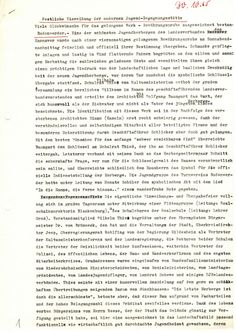 Festliche Einweihung der modernen Jugend-Begegnungsstätte vom 30.10.1965