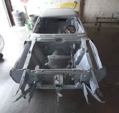 Got the car primed, one step closer to getting color back on it.