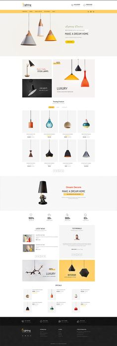 #Lighting #Decor #Crafts - #eCommerce #Modern - #Opencart Multi Purpose #Responsive #Theme