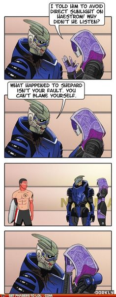 Mass Effect tan