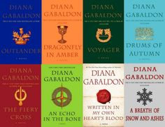 """The Outlander"" series by Diana Gabaldon."