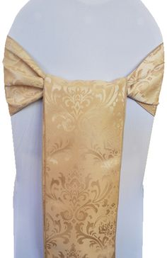 Jacquard Damask Sashes rental 718-744-8995, www.newyorksublimeevents.com Chair Cover Rentals, Chair Ties, Spandex Chair Covers, Sash, Special Day, Damask, Color, Damascus, Colour