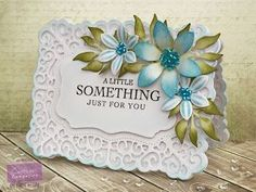 Card made using the Downton Abbey collection from Crafter's Companion. #crafter'scompanion
