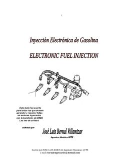 1Escrito por JOSE LUIS BERNAL Ingeniero Mecánico UFPSe-mail: bernalempresarios@hotmail.comEste texto fue escritopara todos...