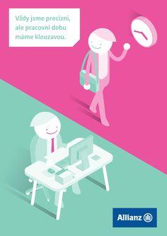 ALLIANZ: HELMUT'S DAY [recruitment poster] 1/3