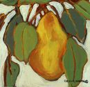Pear Solo...  Original: sold  Acrylic 10 x 8  Reproduction: $95.00      14 x 11