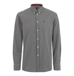 Merc Japster Gingham Shirt - Black - Merc - Mod Wear - 1