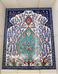 """cityhopper2: """"  Arabian tile-carpet from the Al Zayed mosque, Abu Dhabi 2012, UAE photography by cityhopper2 """""""