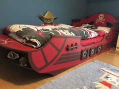 Piratenbett - Kinderbett - Abenteuerbett