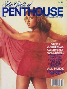 The Girls of Penthouse Magazine July / August 1987 Vanessa Williams * You can get additional details at the image link. (This is an affiliate link) Vanessa Williams, Playmate Gallery, Playboy, Ebony Magazine Cover, Magazine Covers, Vintage Playmates, Penthouses Magazine, Bare Beauty, Miss America