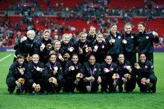 The U.S Woman's soccer team