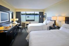 The Westin Downtown Toronto Hotel Lakeview Double Guest Room