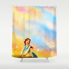 This+Provincial+Life+Shower+Curtain+by+Alice+X.+Zhang+-+$68.00