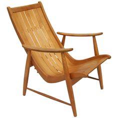 "Jacob Müller adjustable Armchair ""Ronco"", 1950s"