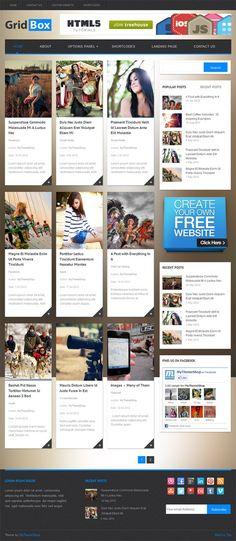 Gridbox WordPress Theme From MyThemeShop #WordPress #wp #wptheme #responsive #gridboxtheme #news #magazine