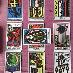 Tarot deck by Sophy Hollington Tarot Reading, Tarot Decks, Polymer Clay Jewelry, Wands, Mystic, First Time, Feelings, Create, Illustration