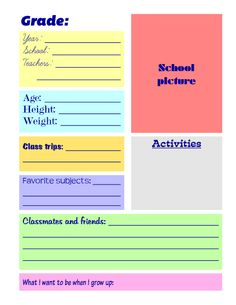 this is a free sle of four pages from my printable school