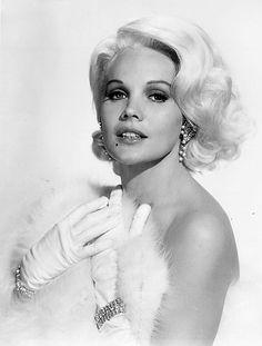 "Carroll Baker publicity for ""Harlow"" 1965"
