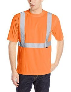 Wolverine Men's Caution Short Sleeve Tee, Hi Vis Orange, XX-Large *Click image to check it out* (affiliate link)