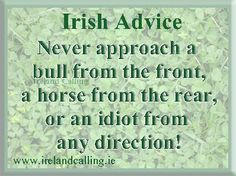 Irish advice funni