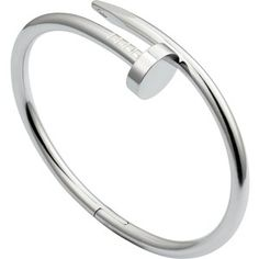 CARTIER Juste un Cou 18ct rhodium plated white-gold bracelet
