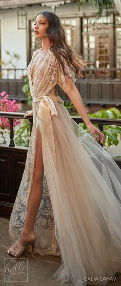 Wedding dress by Galia Lahav Couture Bridal - Fall 2018 - Florence by Night - Ambrosia
