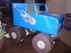 Monster Truck Valentine Box