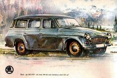 Skoda 1202 STW 1961-1969