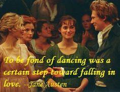 Pride and Prejudice dancing