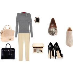 """""""Jacquelyn Tracy -- Lunch at the Club"""" by kristin-landgrebe-sample on Polyvore"""