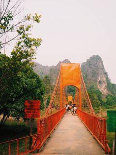 #laos #vangvieng #travel Our World, Golden Gate Bridge, Laos, To Go, Magic, Travel, Trips, Viajes, Traveling