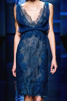 Alberta Ferretti Spring 2013 Ready-To-Wear Collection.