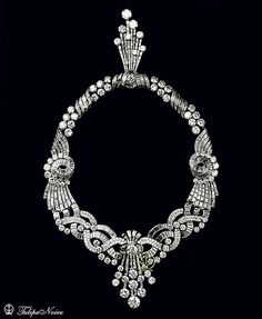 H.M. Queen Farida's Diamond-Necklace From Boucheron House [B] | Flickr - Photo Sharing!
