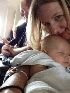 Tips for Flying with a Baby SheJustGlows.com