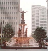 Cincinnati fountain square