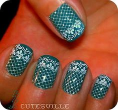 Amazing Lace Nail Art