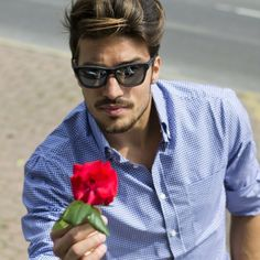 One rose for all the ladies out there  enjoy your night  www.mdvstyle.com/tods