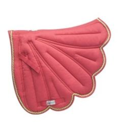 If your Horse doesn't already have wings....perhaps your saddle pad can.....