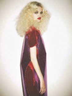 Daphne Groeneveld by Ezra Petronio for Self Service    ugh this makes me want to bleach my hair so badly