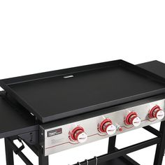 Propane Gas Grill, Gas Bbq, Gourmet Cooking, Stainless Steel Tubing, Grilling Recipes, Storage Spaces, Plates, Table, Top