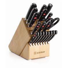 Wusthof Classic 20 Piece Knife Block Set