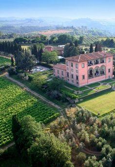 Paisagem da Toscana, Itália.