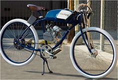 Pedaling Motorcycles : Deringer Cycles