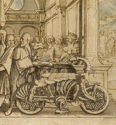 Image result for bicycle in the middle ages