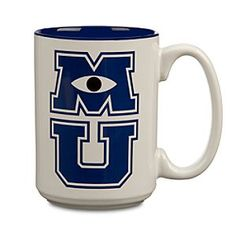 Monsters University Pennants, Mugs and Travel Mugs!