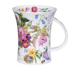 Dunoon Garden Paradise Nest Richmond Shape Mug | Temptation Gifts